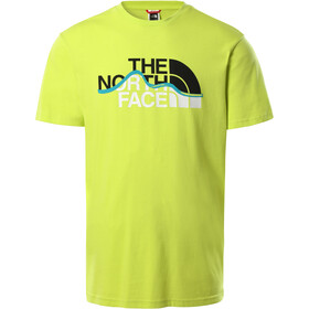 The North Face Mountain Line SS Tee Men, verde